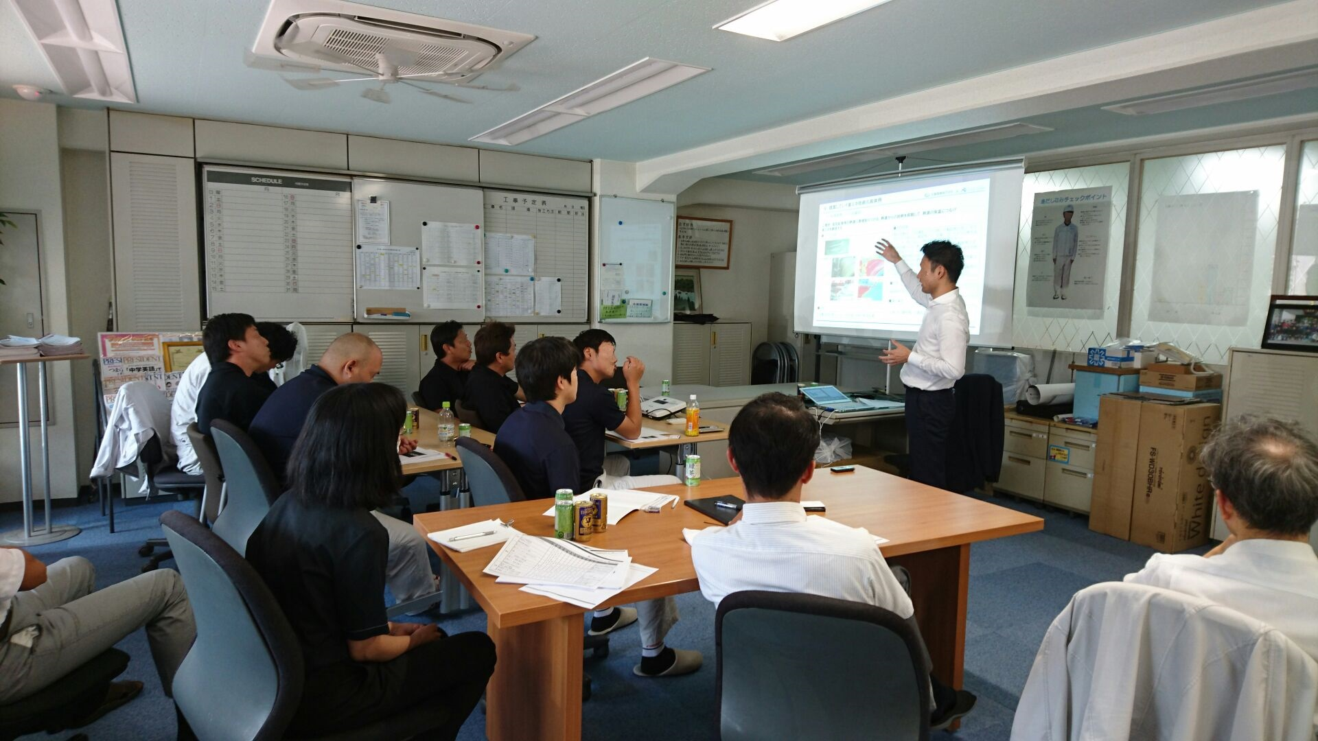 省エネビジネスの勉強会を行いました。